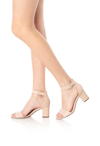 Clarks Кожени сандали Deva Mae с каишка на глезена Жени