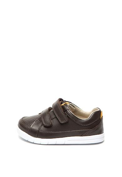 Clarks Pantofi sport cu garnituri de piele Emery Walk Baieti