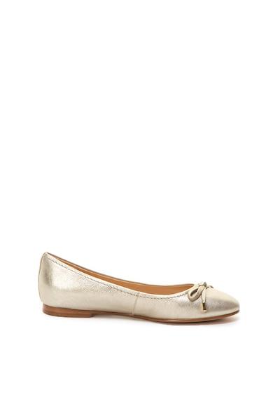 Clarks Grace Lily bőr balerina cipő dekoratív masnival női