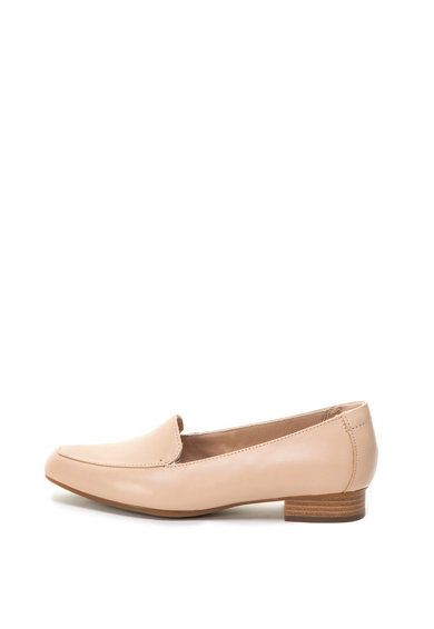Clarks Pantofi loafer cu toc cu aspect stratificat Juliet Lora Femei