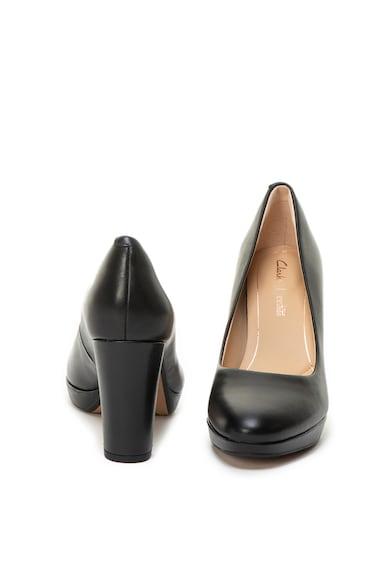 Clarks Kendra Sienna vastag sarkú bőrcipő női