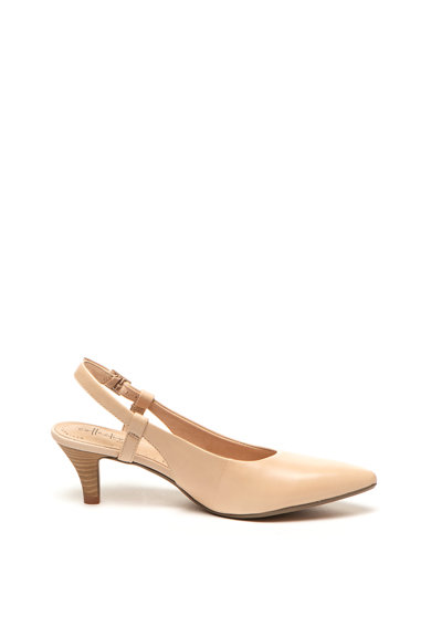 Clarks Pantofi slingback de piele Linvale Loop Femei