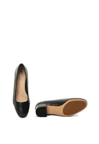 Clarks Pantofi de piele cu brant moale Orabella Alice Femei