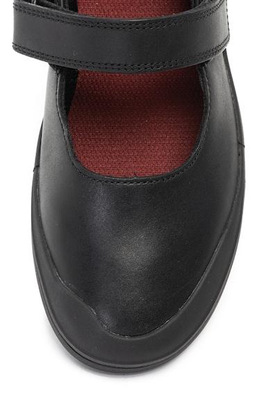 Clarks Pantofi Mary Jane de piele si piele ecologica Rock Spark Fete