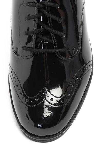 Clarks Кожени обувки Sami Walk Brogue Derby Момичета