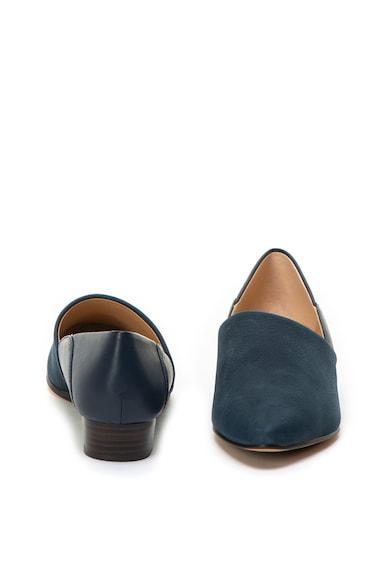 Clarks Sense May telitalpú nubuk bőr és bőr cipő női