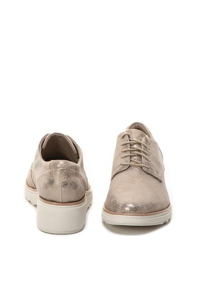 Clarks Pantofi de piele Sharon Crystal Femei