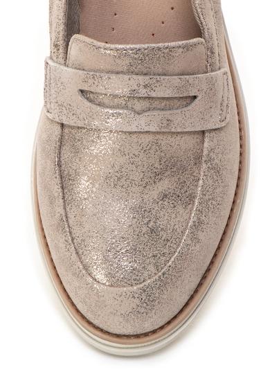 Clarks Sharon Ranch bőrcipő fényes hatással női