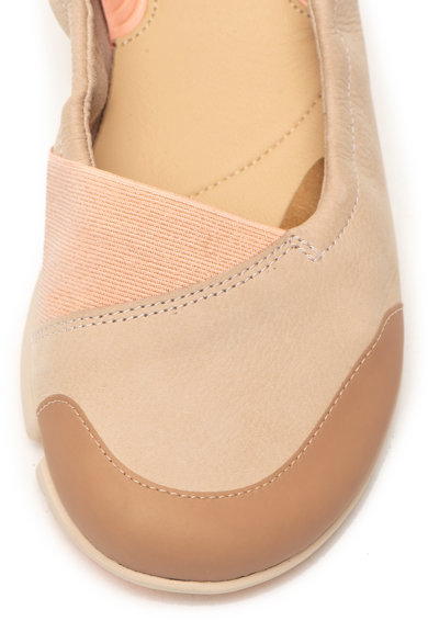 Clarks Balerini de piele nabuc cu brant ergonomic Tri Adapt Femei