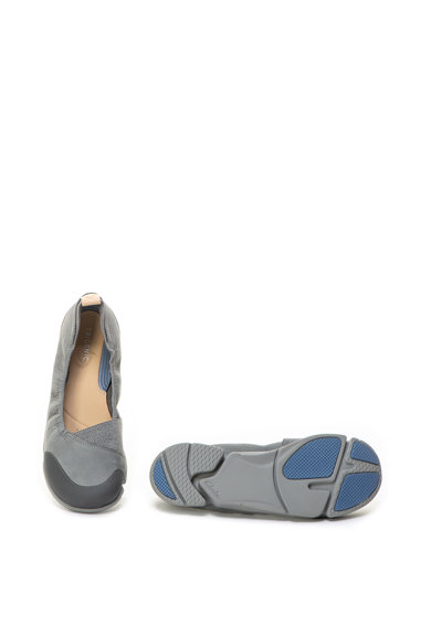 Clarks Balerini de piele nabuc cu talpa ergonomica Tri Adapt Femei