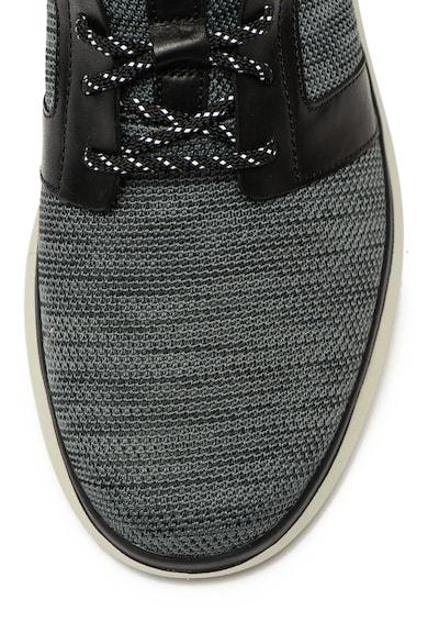 Clarks Pantofi sport slip on cu garnituri de piele ecologica Un Globe Barbati