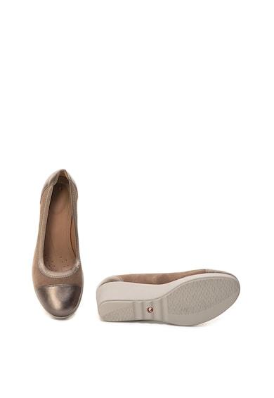 Clarks Обувки Un Tallara Liz от набук и кожа Жени