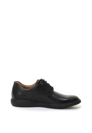 Clarks Pantofi casual de piele Un Voyage Plain Barbati