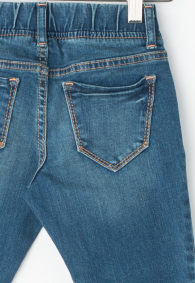 GAP Прилепнали дънки със захабен ефект Момичета