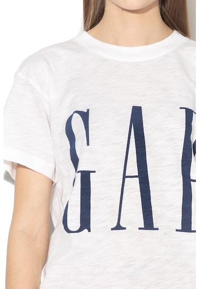 GAP Tricou cu imprimeu logo supradimensionat Femei