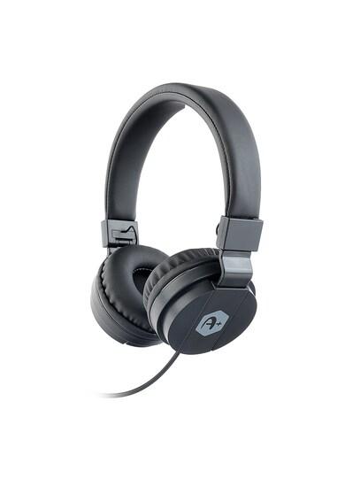 A+ Casti audio tip DJ  , Negru Femei