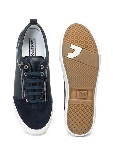 Gioseppo Pantofi sport cu insertii de piele intoarsa Peschini Barbati