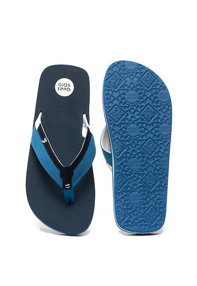 Gioseppo Papuci flip flop cu aplicatie logo metalica Grandate Barbati