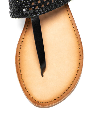 Gioseppo Sandale slingback de piele cu bareta separatoare Platea Femei