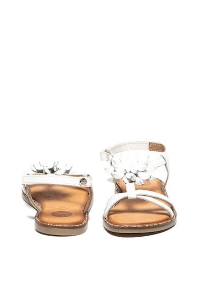 Gioseppo Sandale de piele cu aplicatie in forma de floare Roubaix Baieti