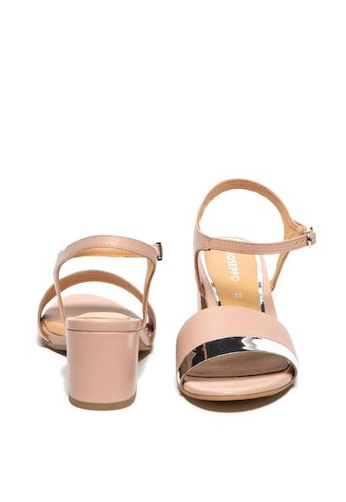 Gioseppo Sandale de piele cu toc masiv Ericeira Femei
