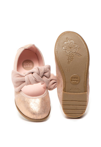 Gioseppo Pantofi mary Jane de piele intoarsa cu aspect stralucitor Tiumen Fete