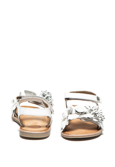 Gioseppo Sandale de piele, cu aplicatii florale Gela Fete
