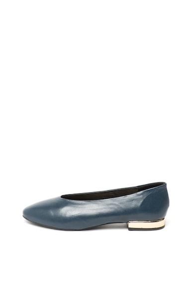 Gioseppo Pantofi de piele cu toc metalizat Sarthe Femei