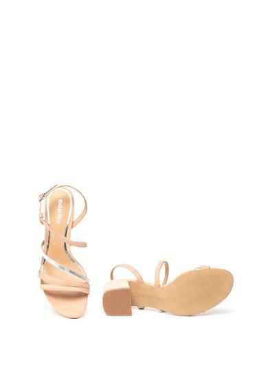 Gioseppo Sandale de piele intoarsa cu toc masiv Alsace Femei