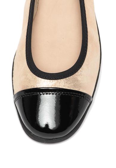 Jana Shoes Бляскави пантофки от кожа и еко кожа Жени