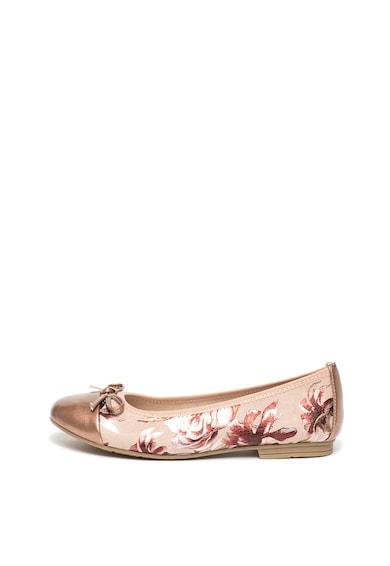Jana Shoes Пантофки от еко велур с флорална шарка Жени