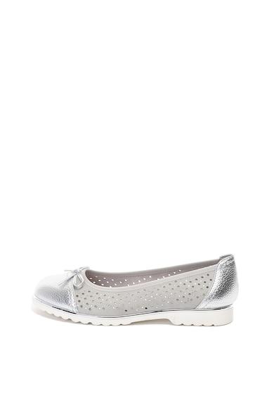 Jana Shoes Пантофки от еко кожа с перфорации Жени