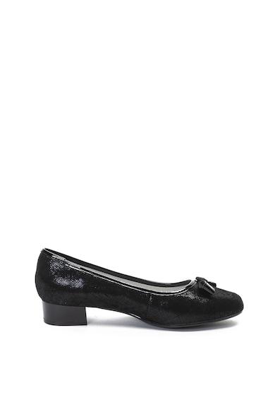 Jana Shoes Кожени обувки с лачени детайли Жени