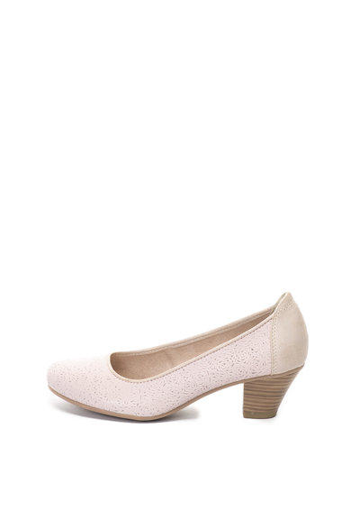 Jana Shoes Кожени обувки с перфорации Жени