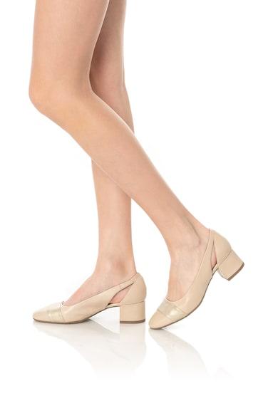 Jana Shoes Кожени обувки с отвори Жени