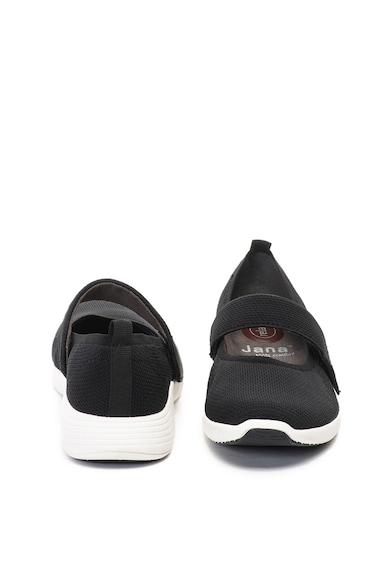Jana Shoes Пантофки от еко кожа и текстил Жени