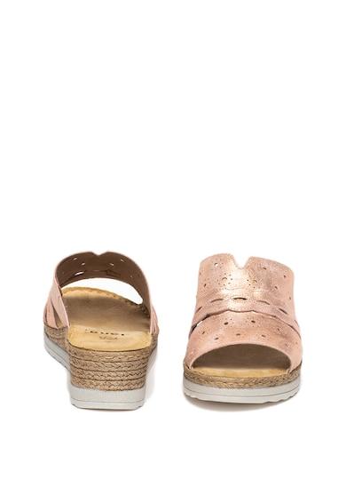 Jana Shoes Кожени обувки със скосена платформа Жени