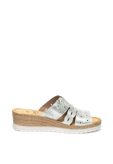 Jana Shoes Papuci wedge de piele Femei