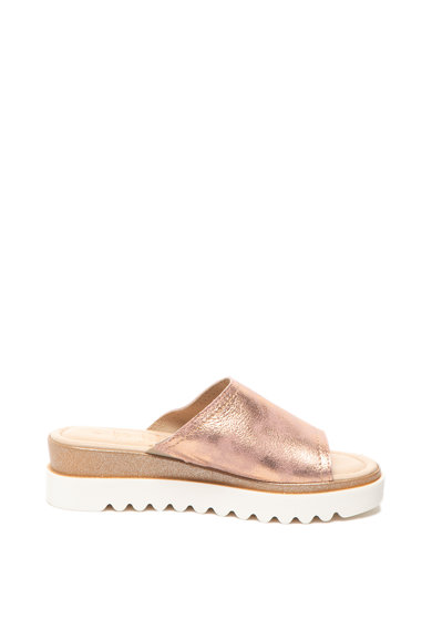 Jana Shoes Омекотени сандали от кожа с брокат Жени
