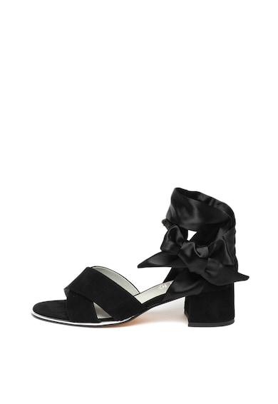 Jana Shoes Велурени сандали Жени