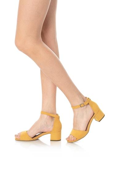Jana Shoes Сандали с масивен ток и каишка на глезена Жени