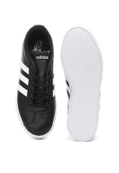 adidas PERFORMANCE Pantofi sport de piele ecologica VL Court Barbati