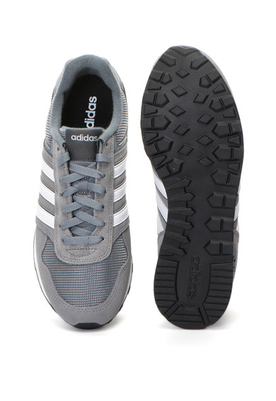 Adidas PERFORMANCE Pantofi sport de piele intoarsa si piele 10K Barbati