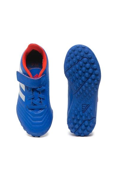Adidas PERFORMANCE Ghete de piele ecologica, pentru fotbal Predator Baieti