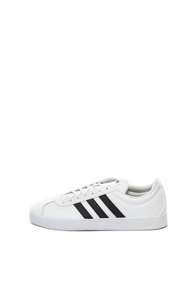 Adidas PERFORMANCE Pantofi sport de piele si piele ecologica VL Court 2.0 Barbati