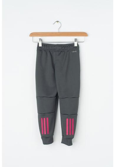 Adidas PERFORMANCE Pantaloni cu dungi contrastante, pentru antrenament Yg Lin Pt Baieti