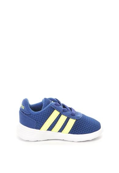 Adidas PERFORMANCE Pantofi sport de plasa si piele intoarsa ecologica Lite Racer Fete