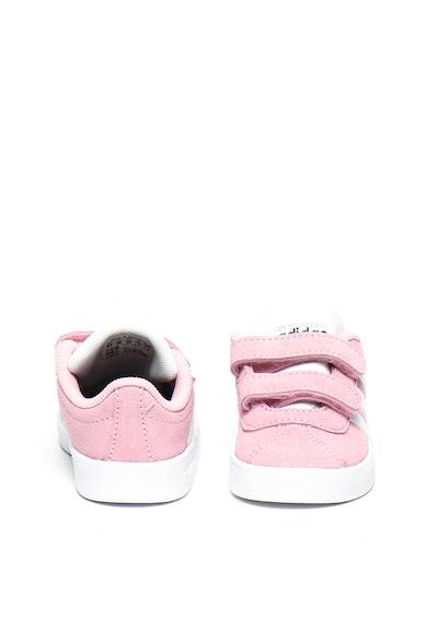 Adidas PERFORMANCE Pantofi sport de piele intoarsa VL Court 2.0 Fete