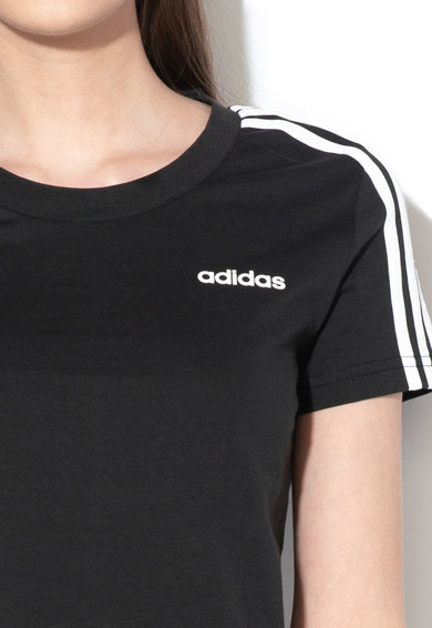 adidas Performance Tricou slim fit cu logo cauciucat, pentru fitness Femei