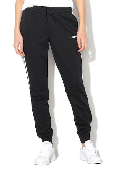 adidas Performance Pantaloni sport cu garnituri tubulare laterale, pentru fitness Femei